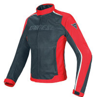 Куртка женская DAINESE HYDRA FLUX LADY D-DR - BLACK/RED/WHITE