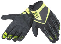 Перчатки мужские DAINESE PADDOCK GLOVES - black/yellow