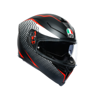 Шлем AGV K-5 S MULTI - thunder matt black/white/red