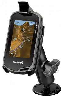 "RAM-B-138-GA31 - крепление RAM mounts для Garmin® Approach G5, Oregon 200-750t. Муфта 95 мм. Шары 25 мм (1"")"