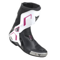 Мотоботы женские DAINESE TORQUE D1 OUT LADY BOOTS - BLACK/WHITE/FUCHSIA