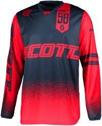 Джерси SCOTT 350 Race - red/blue