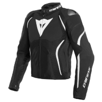 Куртка мужская DAINESE ESTREMA AIR TEX - BLACK/BLACK/WHITE