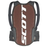 Защиты спины детская SCOTT Back Protector Jr Actifit Plus - black/grey
