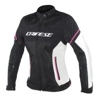 Куртка женская DAINESE AIR FRAME D1 LADY TEX - BLACK/VAPOROUS-GRAY/FUXIA