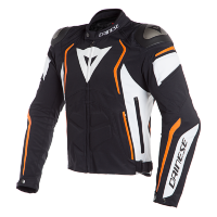 Куртка мужская DAINESE DYNO - BLACK/WHITE/FLUO-ORANGE