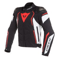 Куртка мужская DAINESE DYNO - BLACK/WHITE/FLUO-RED