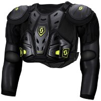 Защита тела детская SCOTT Jacket Protector Jr Command - black/green