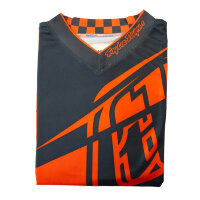 Джерси Troy Lee Designs - GRY/ORG