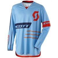 Джерси SCOTT 350 Dirt-17 - blue/orange