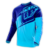Джерси Troy Lee Designs - Cyan/Navy