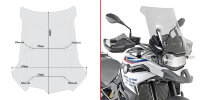 Givi Specific screen, smoked 44 x 47 cm (H x W) BMW F750GS/F850GS (18-19)
