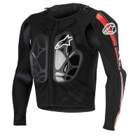 Защита тела ALPINESTARS BIONIC PRO JACKET - BLACK RED WHITE