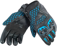 Перчатки мужские DAINESE GUA. AIR HERO - BLACK/ELECTRIC-BLUE