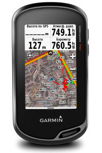 Garmin® Oregon® 750t TopoActive Europe - туристический навигатор Гармин (010-01672-32)(8Gb) + microSD 8 Гб