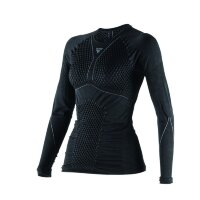 Термокофта женская DAINESE D-CORE THERMO TEE LS - BLACK/ANTHRACITE