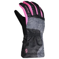 Перчатки JR Ultimate - black/pink