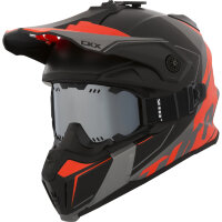 CKX Шлем Titan Cliff Orange with goggle