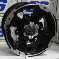 ДИСК ДЛЯ КВАДРОЦИКЛА CARLISLE BLACK-ROCK INTRUDER 4/156 5+2 12X7 (Черный)