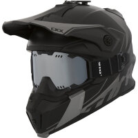 CKX Шлем Titan Cliff Grey with goggle