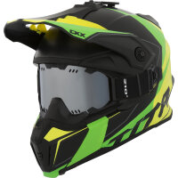CKX Шлем Titan Cliff Yellow/Green with goggle