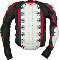 Polisport chest protector integral MY12 Size XS white/black