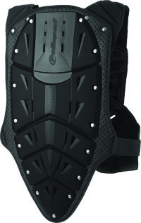 Polisport Chest Protector Rocksteady Fusion short version black
