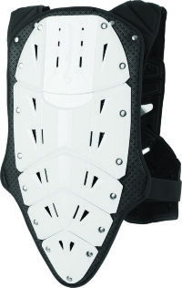 Polisport Chest Protector Rocksteady Fusion short version white