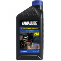 Yamalube 2M Marine 2-stroke Semisynthetic Oil (946 ML)