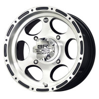 ДИСК ДЛЯ КВАДРОЦИКЛА CARLISLE BLACK-ROCK REVO 4/137 5+2 14X7 MACHINED