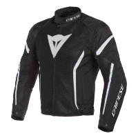 Куртка мужская DAINESE AIR CRONO 2 TEX - BLACK/BLACK/WHITE