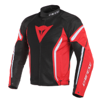 Куртка мужская DAINESE AIR CRONO 2 TEX - BLACK/RED/WHITE