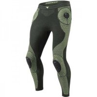 Термобрюки DAINESE D-CORE ARMOR PANT LP - BLACK/FLUO-YELLOW