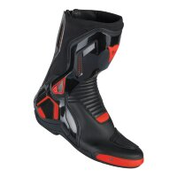 Мотоботы мужские DAINESE COURSE D1 OUT AIR - BLACK/RED-FLUO