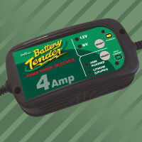 Battery Tender Power Tender 6V/12V 4 A lead acid/Lithium Battery Charger