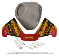 FMF RCT S/S REPLACEMENT END CAP KIT
