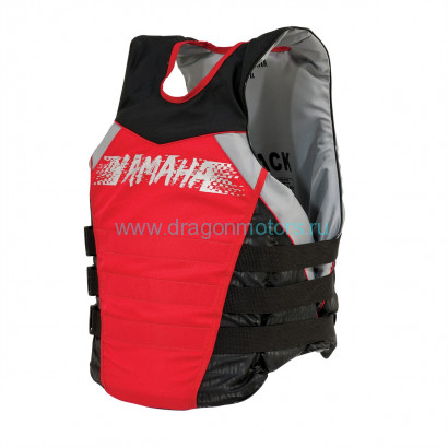 Жилет Yamaha Side Entry Nylon PFD (Красный)