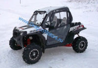 Кабина для квадроцикла UTV POLARIS RZR XP 900 (с печкой)