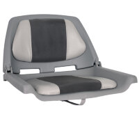 OS FISHERMANS SEAT FOLDING PADDED GREY/CHARCOAL