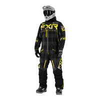 Комбинезон FXR Helium Lite без утеплителя - Char Plaid/Black/Hi Vis Fade