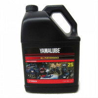 Масло Yamalube 2S, 2Т, Semisynthetic Oil (3,78 л)