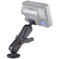 RAM-101-LO11 - крепление RAM mounts для Lowrance Elite-5, Mark-5, Hook-5 & Elite 7 Ti Fishfinders. Муфта 140мм